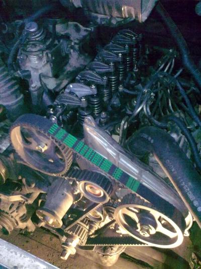 на двигателе 4D56 Mitsubi